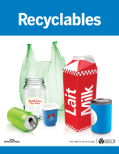 recyclables decal